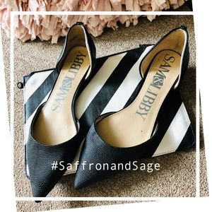 Sam & Libby for Target D'Orsay Style Black Flats